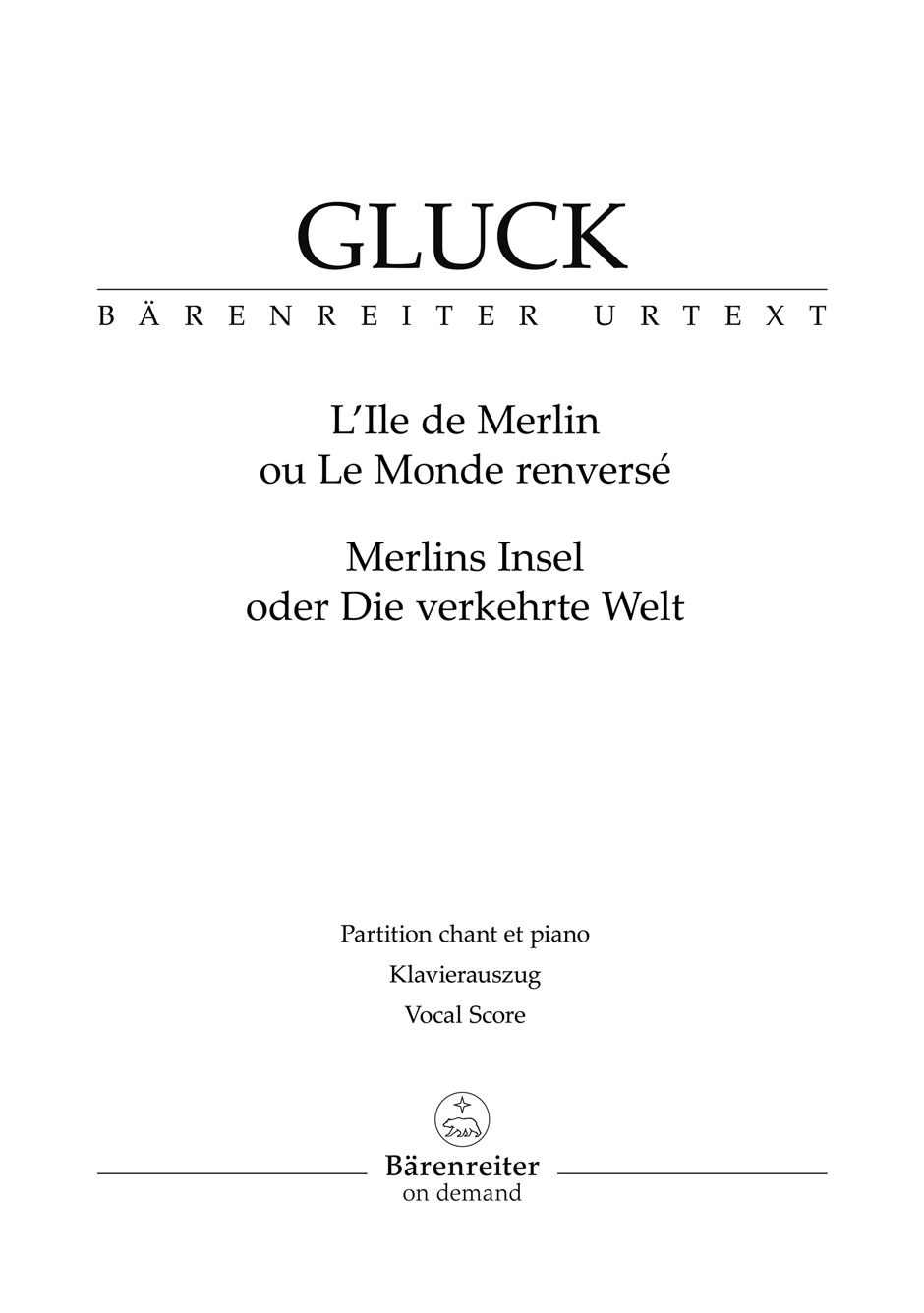 L'ile de Merlin Ou Le Monde Renverse