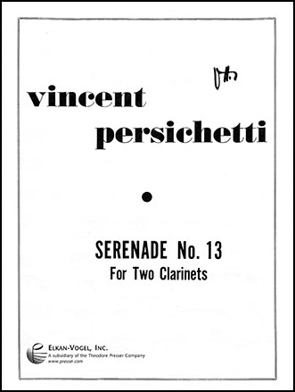 Serenade No  13-Clarinet Duet (Clarinet& | J W  Pepper Sheet