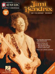 Jazz Play-Along Volume  80-Jimi Hendrix