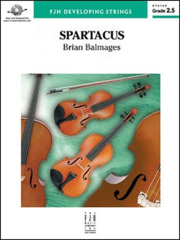 Spartacus choral sheet music cover
