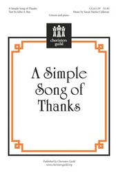 Simple Song of Thanks