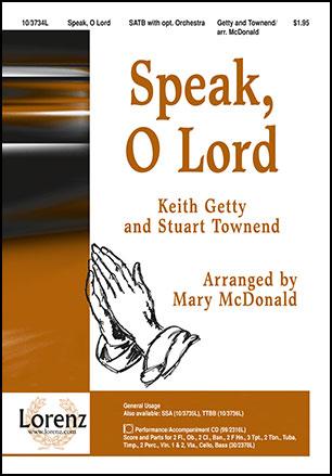 Speak, O Lord