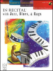 In Recital with Jazz Blues and Rags