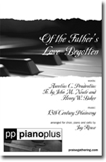 Of the Father's Love Begotten Thumbnail