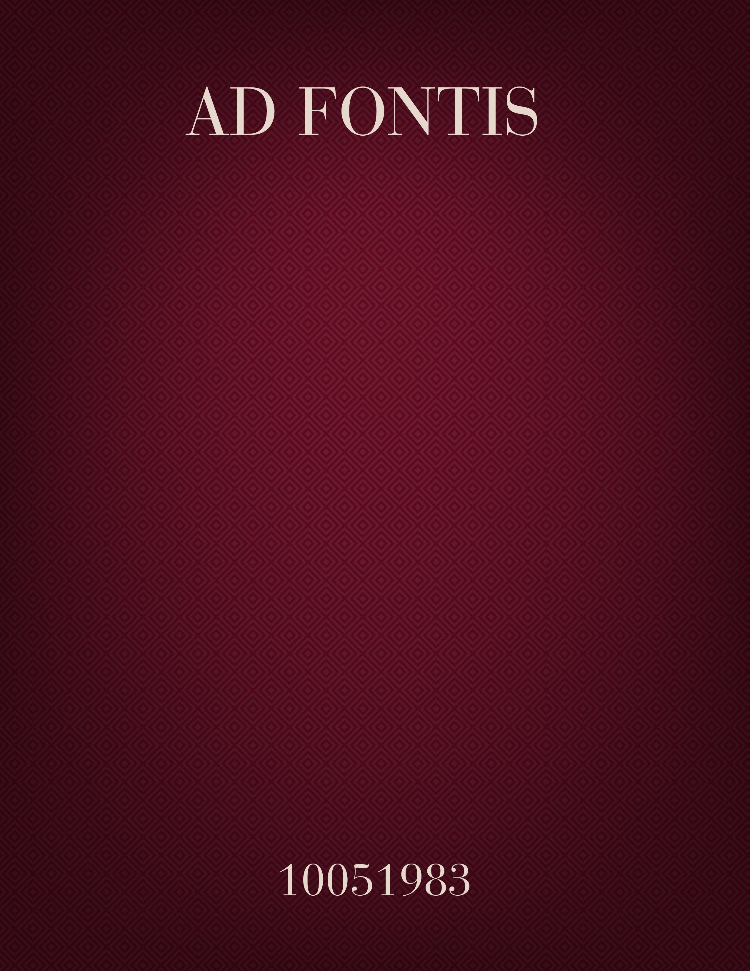 Ad Fontis