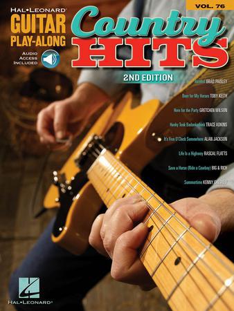 Guitar Play-Along, Vol. 76: Country Hits