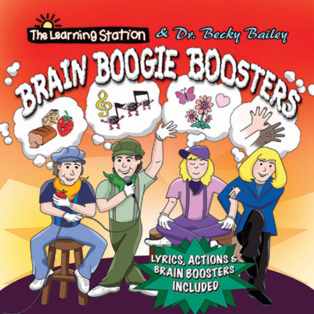 Brain Boogie Boosters  Cover