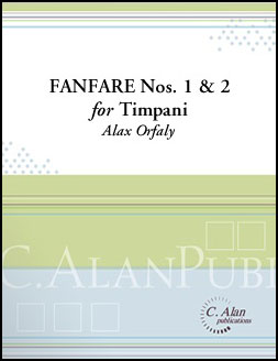 Fanfare Nos. 1 and  2 for Timpani