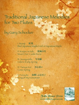 Traditional Japanese Melodies for Two Flutes