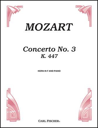 Concerto No. 3, K. 447