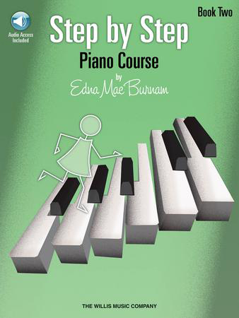 Step by Step Piano Course Cover