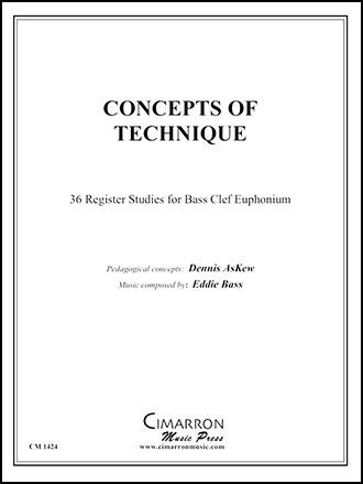 Concepts of Euphonium Technique