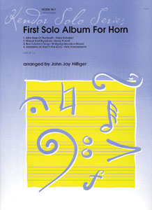 First Solo Album for Horn