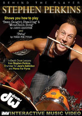Behind the Player Stephen Perkins