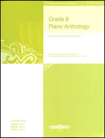 Grade 8 Piano Anthology