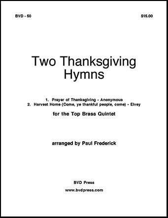 Two Thanksgiving Hymns