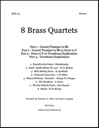 Eight Brass Quartets