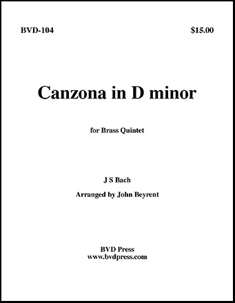 Canzona in D Minor