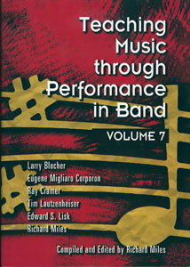 Teaching Music Through Performance in Band, Vol. 7