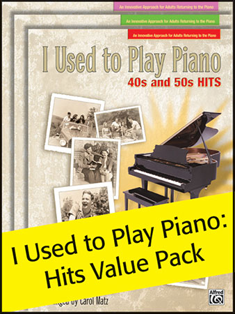 I Used to Play Piano Value Pack