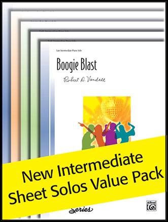 Intermediate Sheet Solo Value Pack