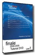 Finale Tutorial DVD - Level 1