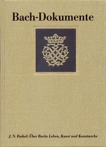 Bach Dokumente No. 7 Ueber Bachs