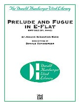 Prelude and Fugue in E Flat BWV552
