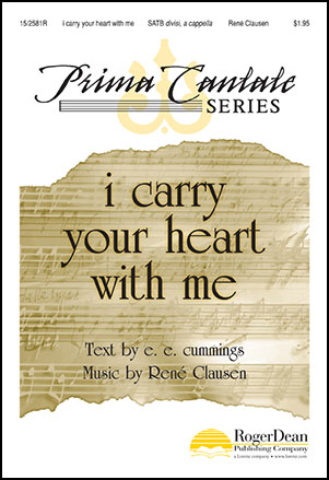 i carry your heart with me prima cantate