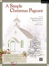 a simple christmas pageant two part mixed s j w pepper sheet music