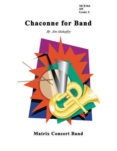 Chaconne for Band