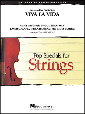 Viva la Vida choral sheet music cover