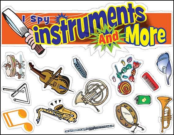 I Spy Instruments and More