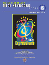 Music Expressions Gr 6 Midi Keyboard Teacher Edition
