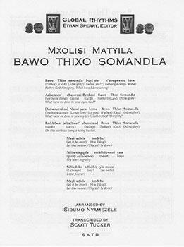 Bawo Thixo Somandla