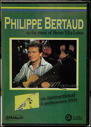 Philippe Bertaud on the Music of Heitor Villa Lobos No. 1