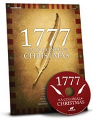1777 a Colonial Christmas  Cover