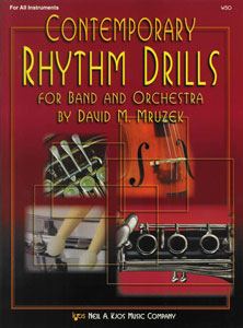 Contemporary Rhythm Drills for Band and Orchestra