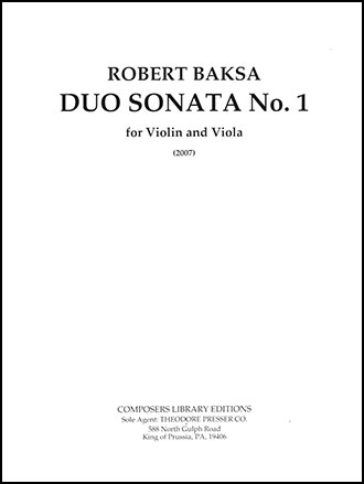 Duo Sonata, No. 1