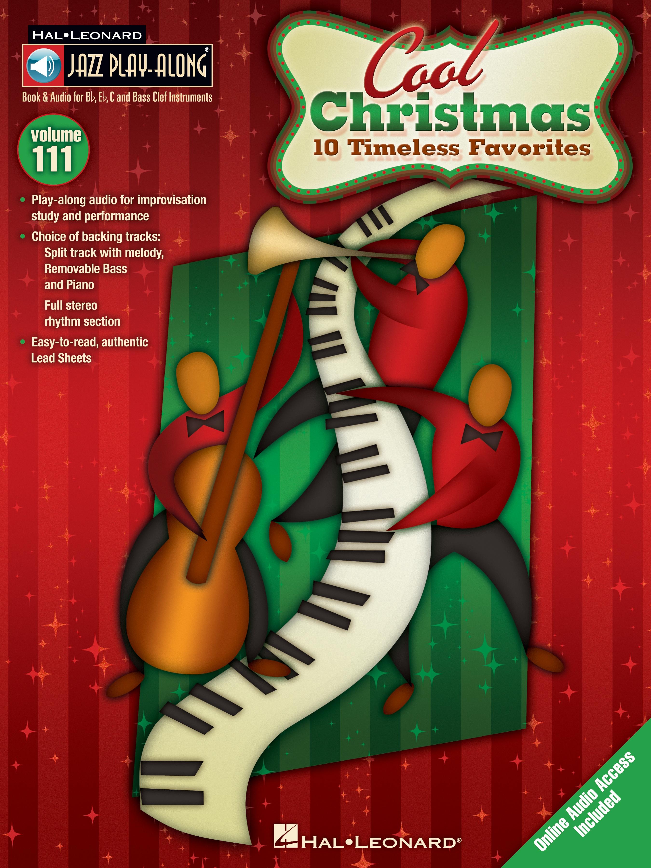 Jazz Play-Along Volume 111-Cool Christmas