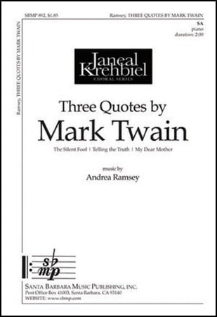 Three Quotes by Mark Twain