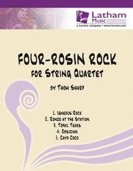 Four Rosin Rock for String Quartet
