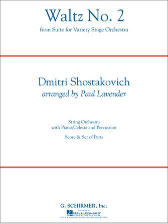 Waltz No. 2 choral sheet music cover
