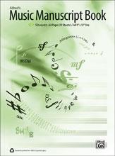 Alfreds Music Manuscript Book