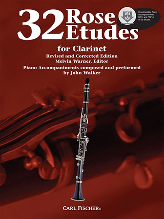 32 Rose Etudes woodwind sheet music cover