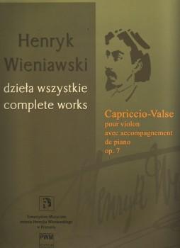 Capriccio-Valse, Op. 7