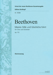 Meeres stille und Gluckliche Fahrt, Op. 112