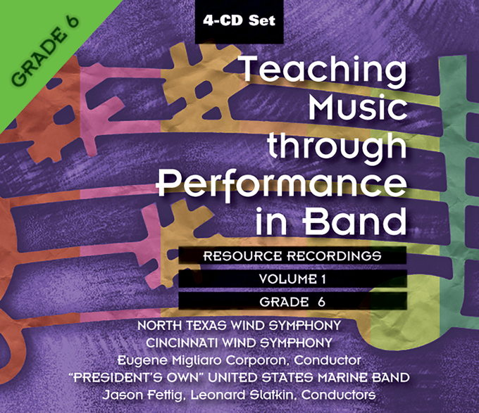 Teaching Music Through Performance in Band, Vol. 1 Cover