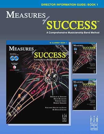Measures of Success band sheet music cover