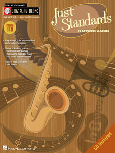 Jazz Play-Along Volume 110-Just Standards